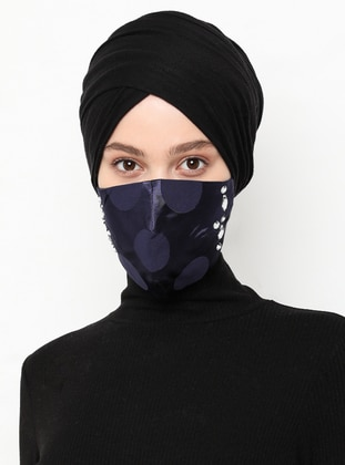 Multi - Navy Blue - Mask