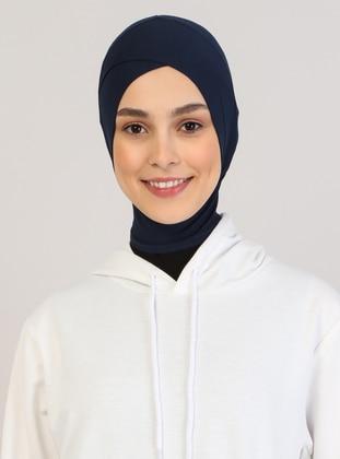 Navy Blue - Plain - Simple - Bonnet