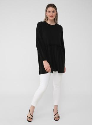 Oversize Tunic - Black