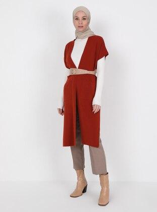 Unlined - Terra Cotta - Knitwear