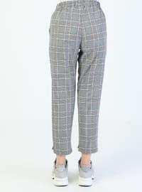 Purple - Stripe - Pants