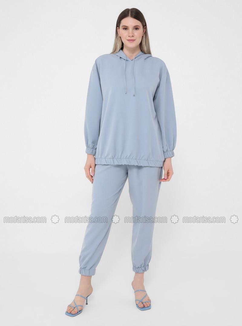 Ecru - Unlined - Plus Size Suit
