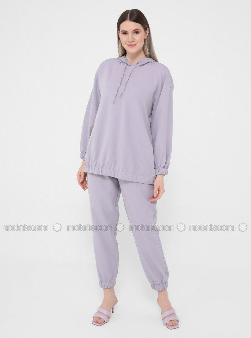 Lilac - Unlined - Plus Size Suit