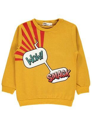 Mustard - Boys` Sweatshirt - Civil