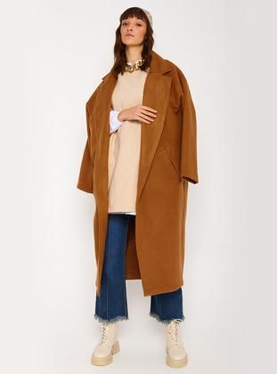 Brown - Unlined - Coat