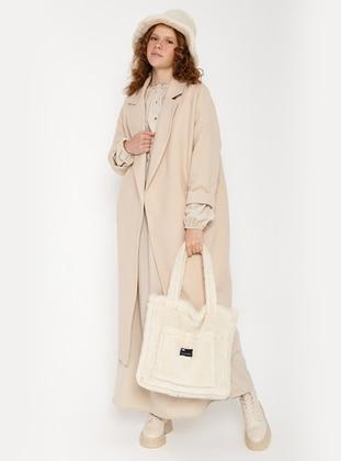Cream - Unlined - Coat