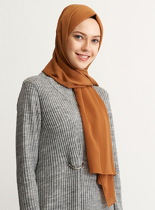 Caramel - Plain - Shawl