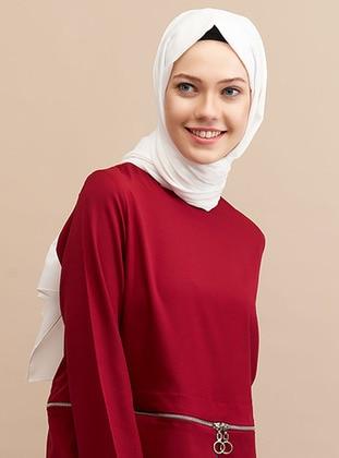 White - Plain - Shawl