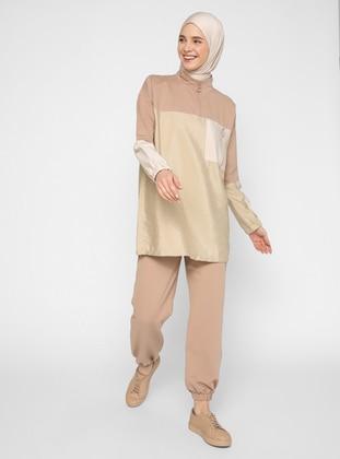 Biscuit - Camel - Unlined - Suit