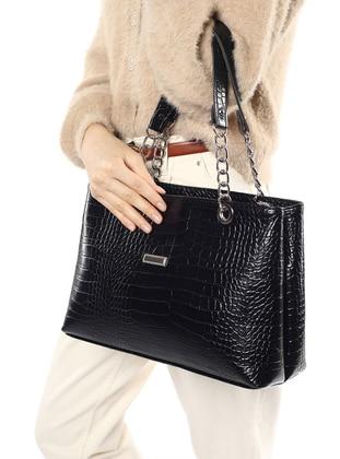 Black - Satchel - Shoulder Bags - Madamra