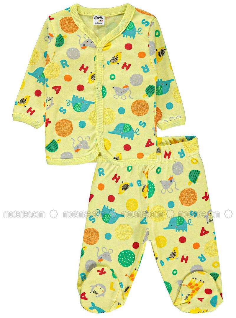 Yellow - Baby Suit
