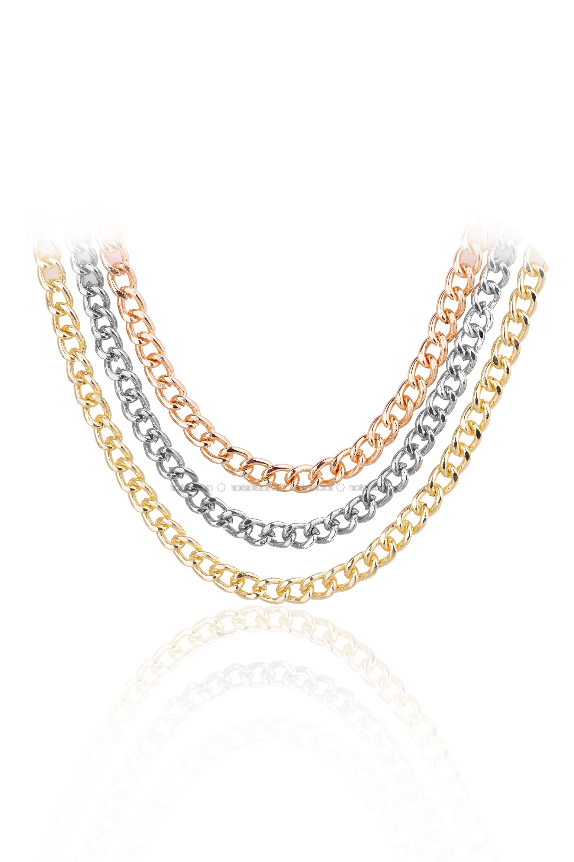 Gold - Multi - Necklace