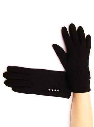 Black - Glove - Batı Accessories