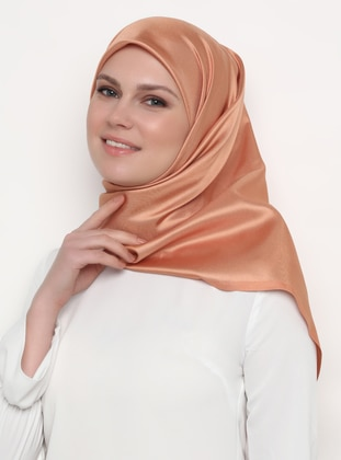 Orange - Plain - Scarf