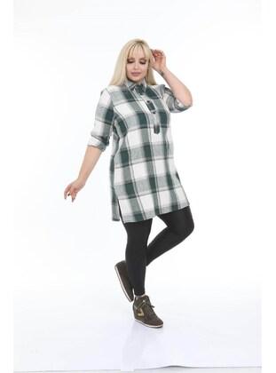 Green - Plus Size Blouse