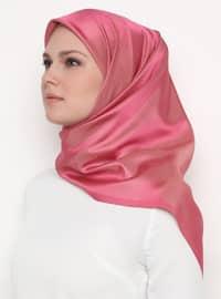 Gold - Pink - Plain - Scarf