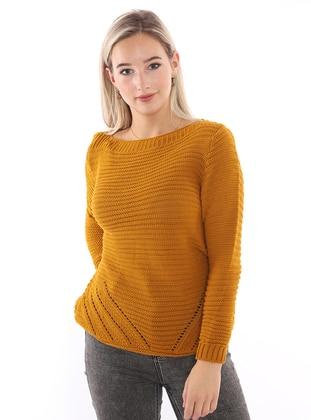 Mustard - Unlined - Knit Sweaters