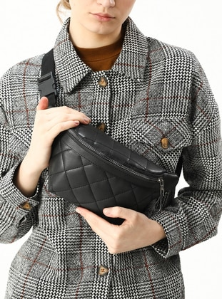Black - Satchel - Bum Bag