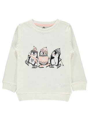 Ecru - Girls` Sweatshirt - Civil