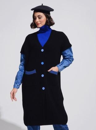 Black - Unlined - Knit Jackets
