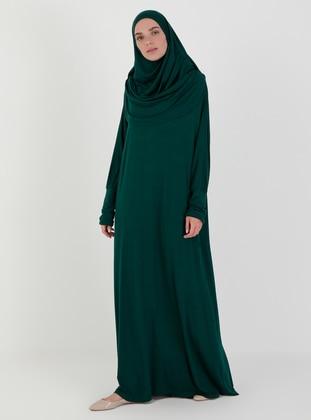 Emerald - Unlined - Prayer Clothes - Hal-i Niyaz