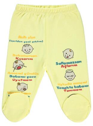 Yellow - Baby Bottomwear - Civil