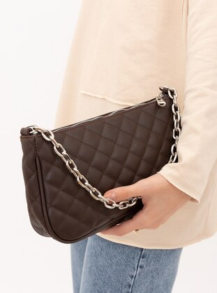 Brown - Satchel - Shoulder Bags