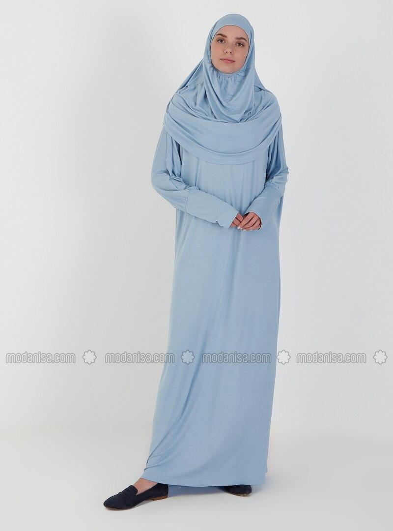 Baby Blue - Unlined - Prayer Clothes - Hal-i Niyaz
