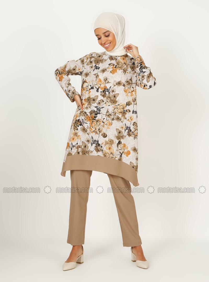 Tunic&Trousers Set - Mink