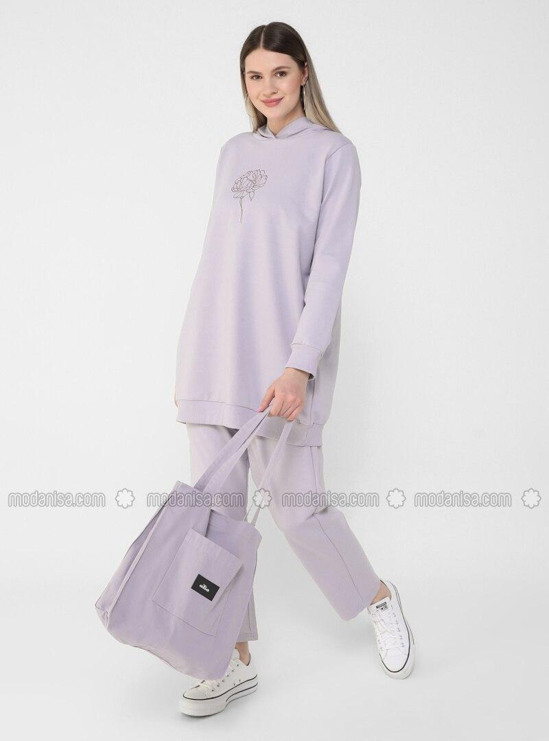 Lilac - Plus Size Tracksuit