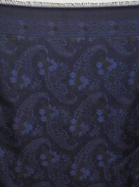 Saxe - Black - Shawl Patterned - Scarf