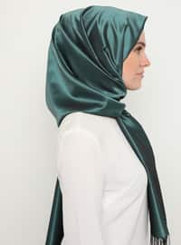 Black - Emerald - Plain - Shawl
