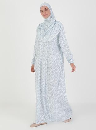 Blue - Unlined - Prayer Clothes - Hal-i Niyaz
