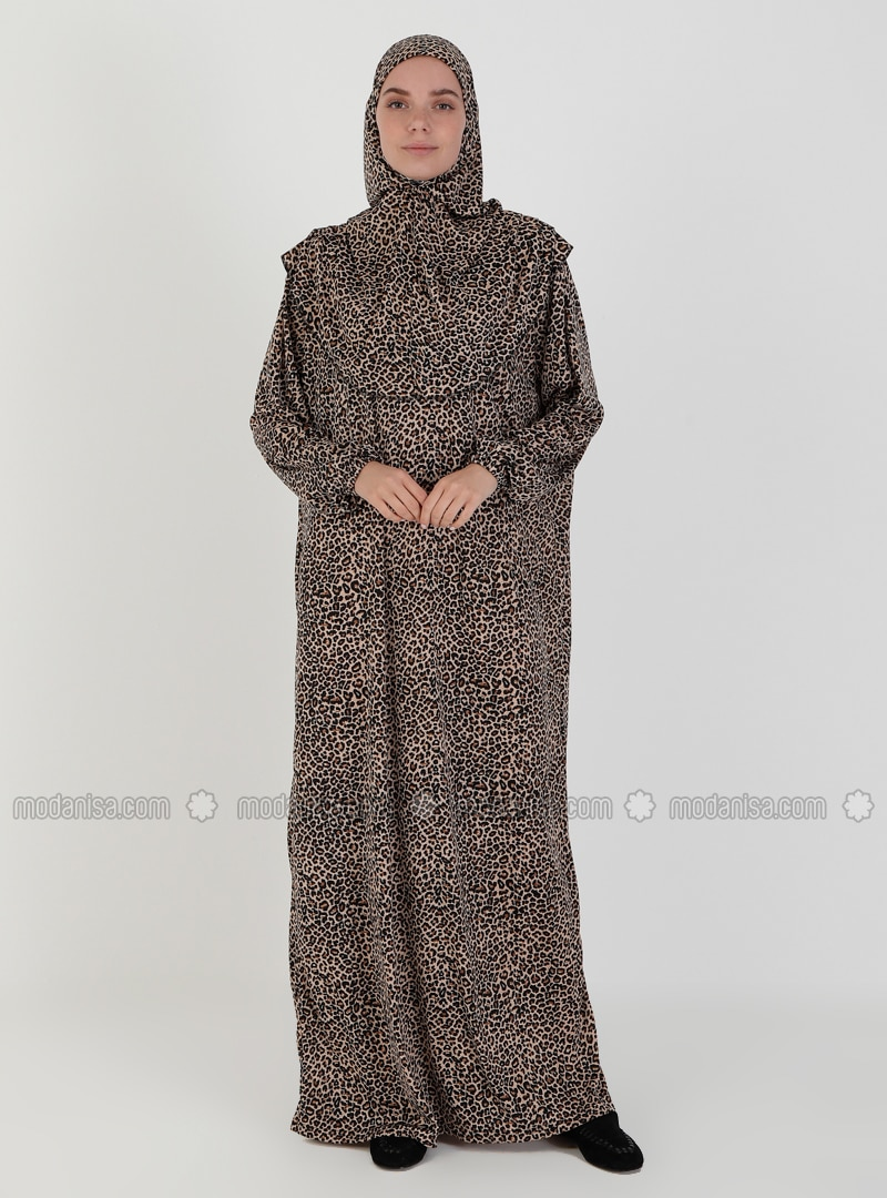 Gold - Black - Unlined - Prayer Clothes - Hal-i Niyaz