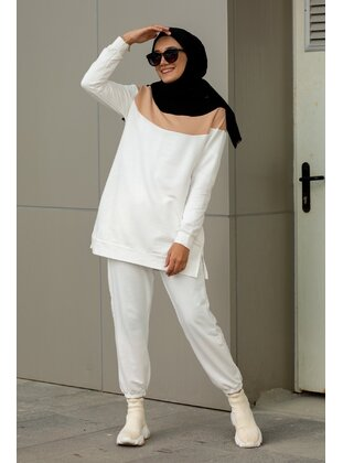 White - Suit