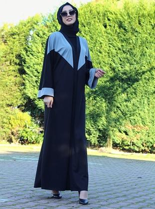 Unlined - Crew neck - Abaya - DUHA BY MELEK AYDIN