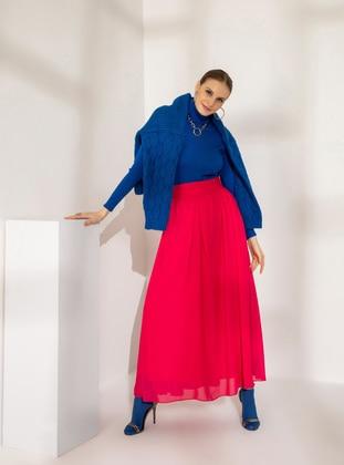 Fuchsia - Fully Lined - Skirt