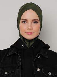 Khaki - Sports Bonnet