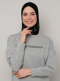 Black - Sports Bonnet