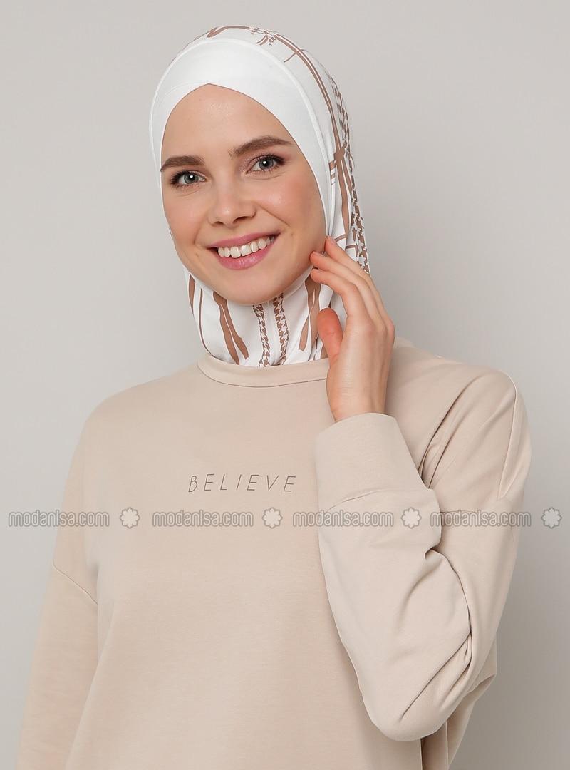 Cream - Sports Bonnet