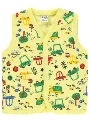 Yellow - Baby Vest