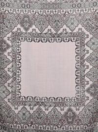 Lilac - Shawl Patterned - Scarf