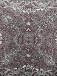 Dusty Rose - Floral - Shawl Patterned - Scarf