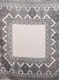 Lilac - Powder - Shawl Patterned - Scarf