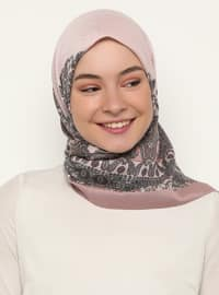 Powder - Shawl Patterned - Scarf