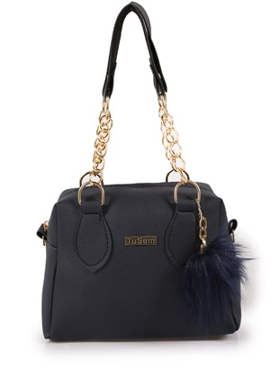 Navy Blue - Navy Blue - Satchel - Shoulder Bags