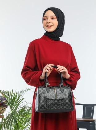 Black - Black - Satchel - Shoulder Bags