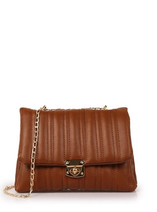 Tan - Tan - Satchel - Shoulder Bags