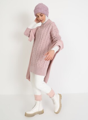 Powder - Crew neck - Unlined - Knit Tunics