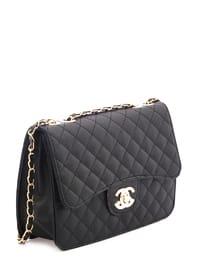 Black - Black - Shoulder Bags